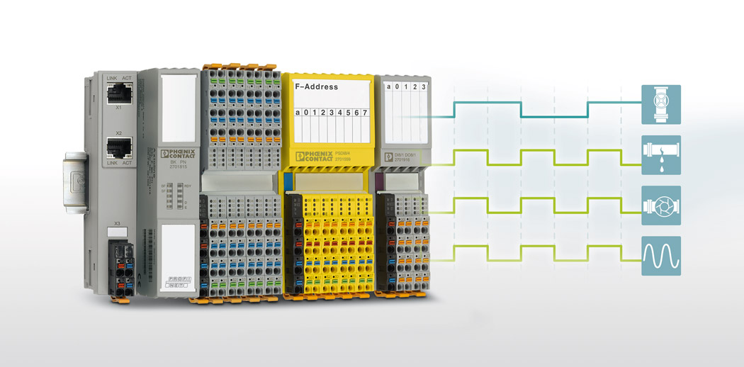 I/O modules for modular data acquisition in the field