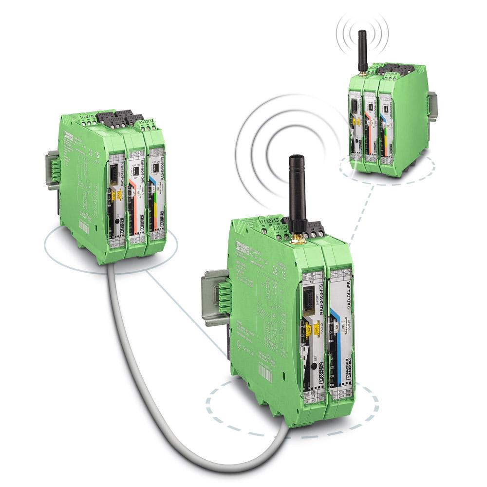 Wireless serial for Radioline
